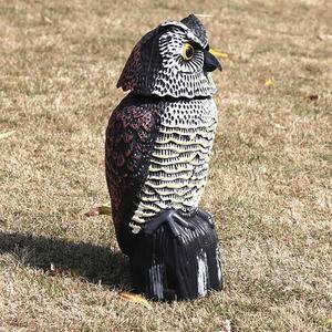 Image 2 - Repelente de aves de búho, espantapájaros reflectantes para colgar, repelente de aves y palomas, Control de plagas, espantapájaros, patio de jardín