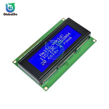 LCD2004 2004 20x4 2004A Blue/Green LCD Screen Display HD44780 Character IIC/I2C SPI Interface Adapter Module for arduino 3.3V 5V 0 96inch oled b lcd led display module 128 64 i2c iic spi straight vertical pinheader yellow blue colors