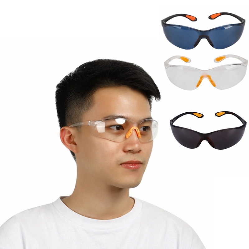 Clear Dust-Proof Glasses Safety Anti-impact Working Glasses Lab Eyewear Splash Protective Anti-wind Glasses Goggles
