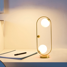 Gold&Black Modern Table Lamp With Metal Lampshade Glass Bedside Desk lights Simple Book Lamps Deco Luminaria Reading Lighting novelty modern bedroom table lamps fashion reading desk lights home decoration lighting book lamp