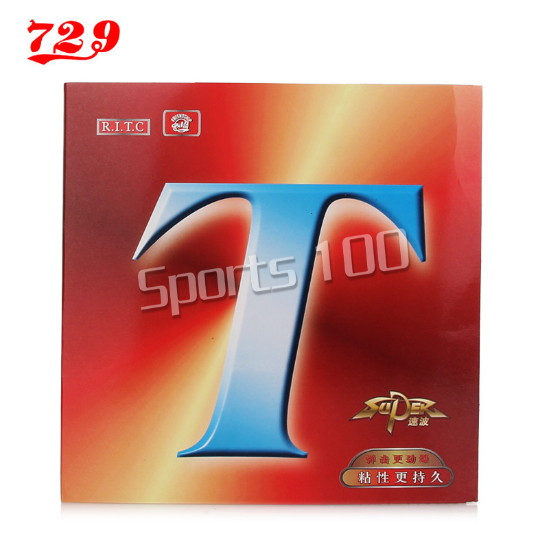 729 Friendship Original SUPER T Pimples In Table Tennis Rubber Pips-In Ping Pong Sponge Tenis De Mesa