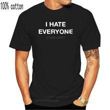 Eu odeio todo mundo estúpido cunts camisa