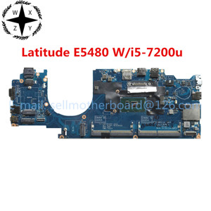 For DELL Latitude E5480 Laptop Motherboard CN-04XVDF 04XVDF CDM70 LA-E081P With SR342 i5-7200u CPU DDR4 MB 100% Tested Fast Ship