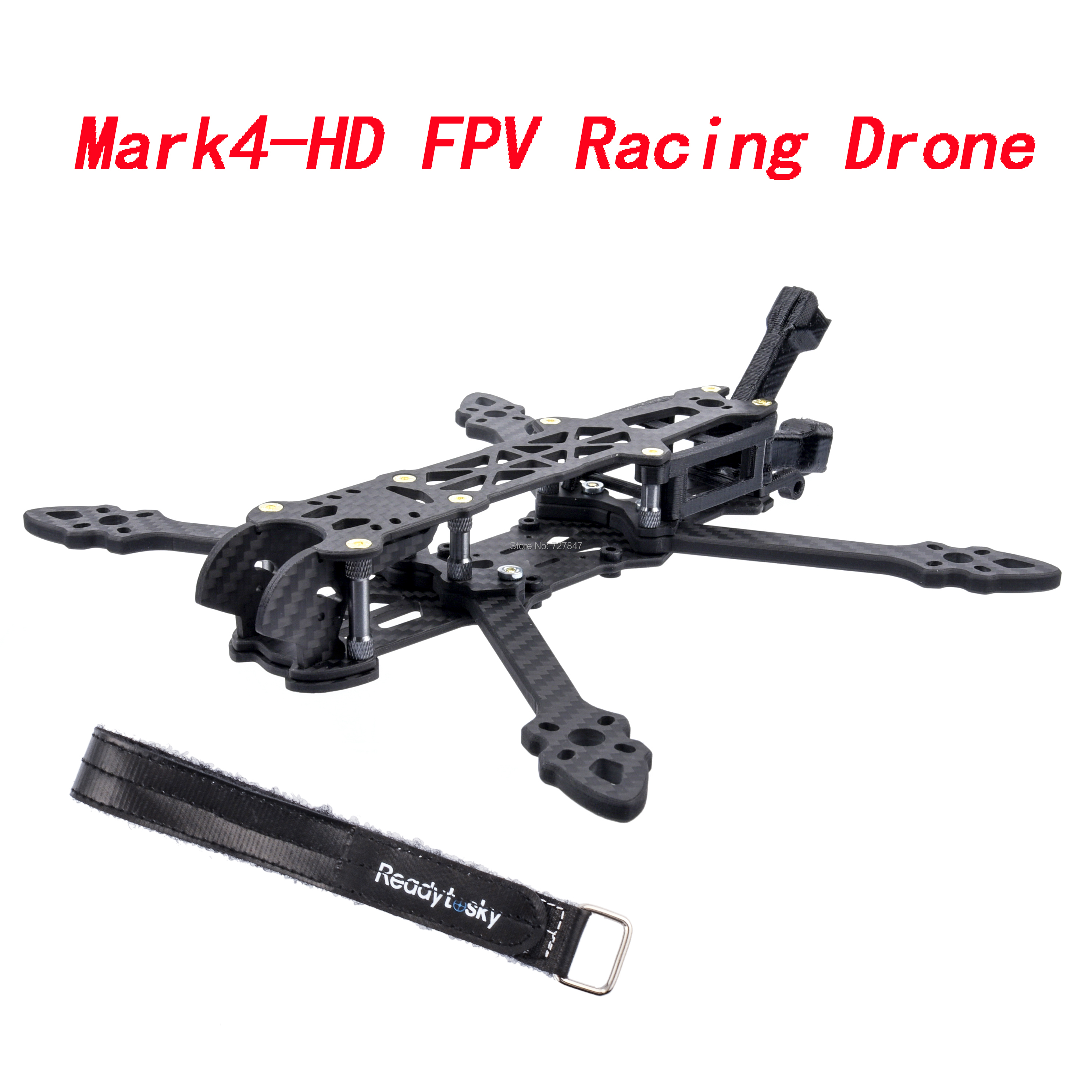 Mark4-HD Mark4 5inch 224mm / 6inch 260mm /7inch 295mm With 5mm Arm FPV Racing Drone Quadcopter Freestyle Frame For Rooster QAV-X