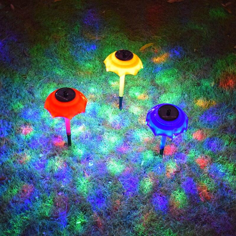 LED Solar Light Outdoor Waterproof Garden Lawn Light Mini Solar Courtyard Ground Lamp Landscape Road Night Lights