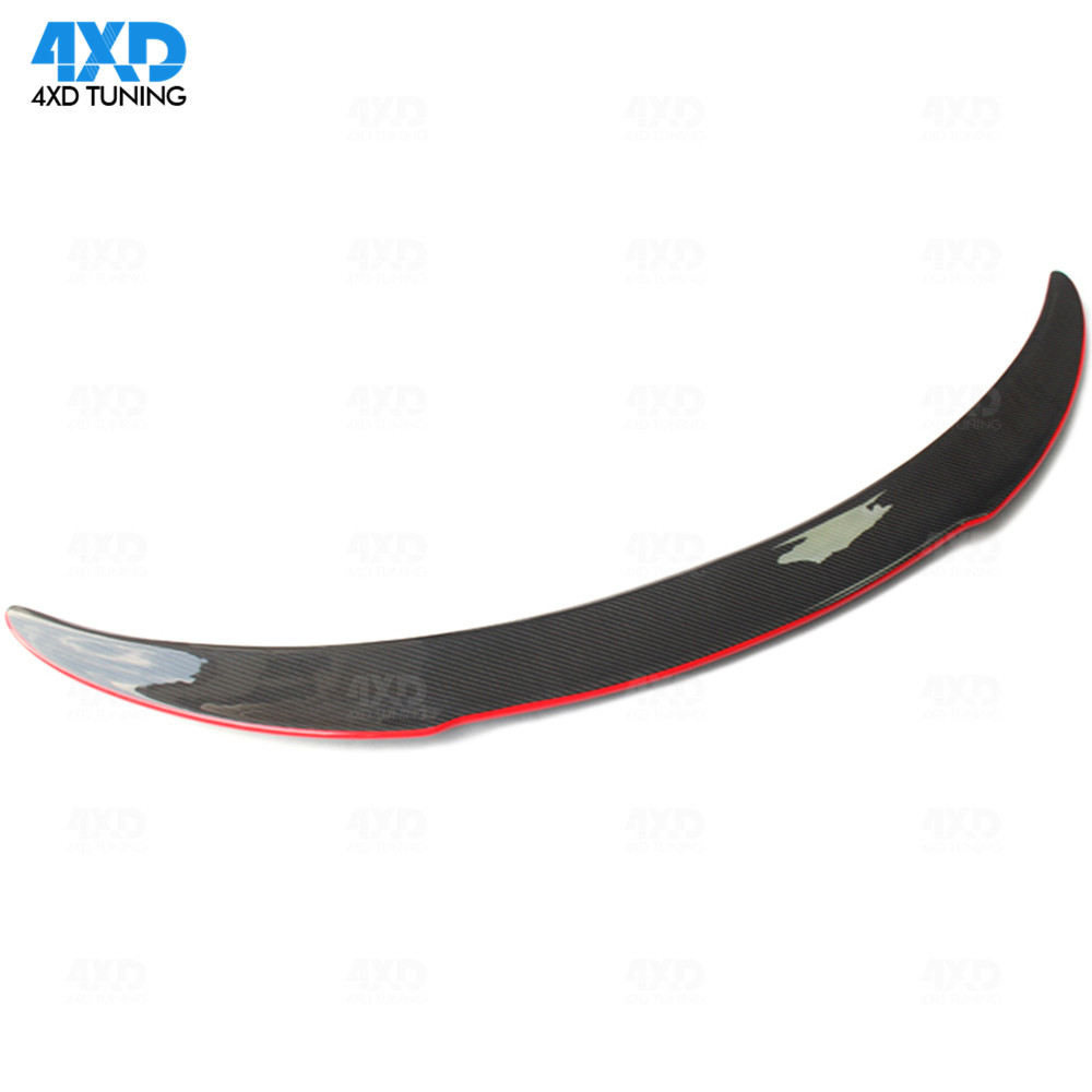 W117 Carbon Fiber Trunk Spoiler For Mercedes CLA AMG C117 Rear - Auto Replacement Parts - Photo 1