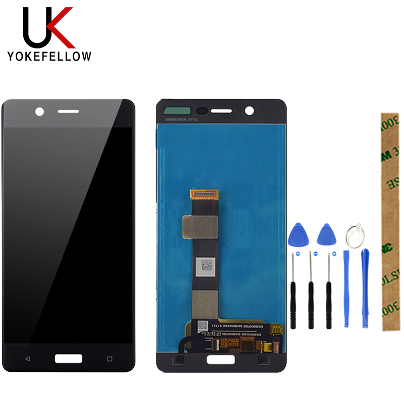 100% Tested LCD Display For Nokia <font><b>5</b></font> <font><b>TA</b></font>-1024 <font><b>TA</b></font>-1027 <font><b>TA</b></font>-1044 <font><b>TA</b></font>-<font><b>1053</b></font> LCD Display With Touch Screen Assembly image