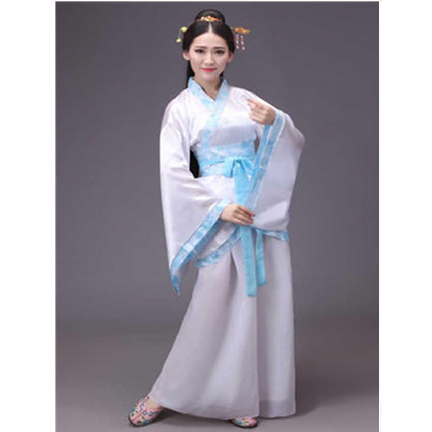 12 kolorów kobieta parkiet sukienka chińskie tradycyjne stroje nowy rok dorosłych strój Tang wydajność Hanfu kobiet Cheongsam