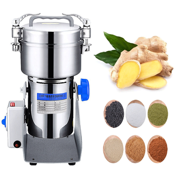 Stainless Steel Grain Mill Household Electric Herbs Mill Ultrafine Powder Machine Grinding Machine цена 2017