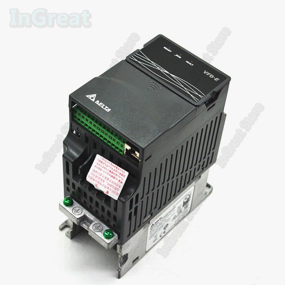 380V Delta AC 400W 0.4KW 0.5hp 600Hz & PLC VFD E VFD004E43A Frequenz Konverter Inverter Fahrer VFD Modbus RS485 Digitale tastatur
