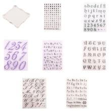 Decorating-Tools Fondant Cookie-Cutter Embosser-Stamp Alphabet Sugarcraft Silicone 1set