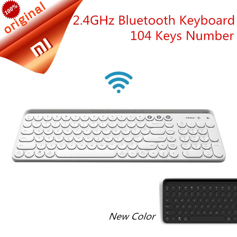 Xiaomi Miiiw Bluetooth Keyboard Dual Mode MWBK01 104 Keys 2.4GHz Multi System Compatible Wireless Portable Keyboard