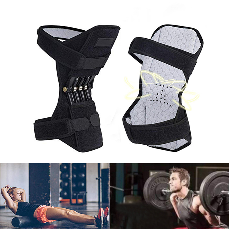 Magic Knee Support Tibial Booster Knee Joint Knee Protection Booster Bone Care Supports Walk Hiking Adjustable Knee Protection