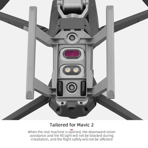 Image 5 - Quick Release Landing Gear Kits for DJI Mavic 2 Pro/Zoom Drone Height Extender Long Leg Foot Protector Stand Gimbal Guard