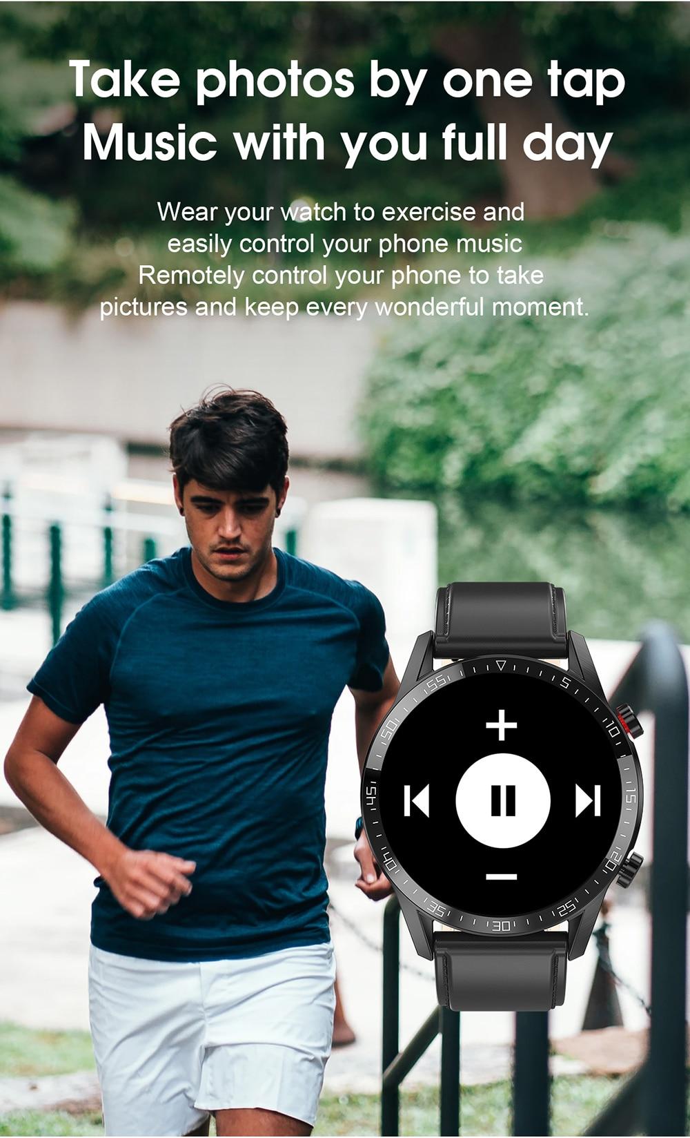 H7c0103b8e70f485f9c0a5d116084530cC For Phone Xiaomi Android IOS Reloj Inteligente Hombre Smartwatch Men 2021 Android IP68 Smartwatch Answer Call Smart Watch Man
