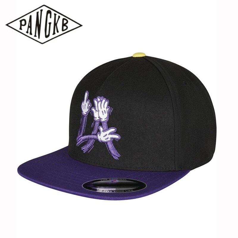 PANGKB Brand LA FC Cap Cartoon los angeles snapback hat adult headwear outdoor casual sun baseball cap drop shipping wholesale