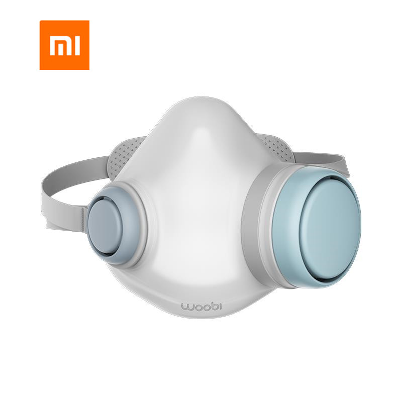 Xiaomi Woobi Play F95 Adult N95 Mask 4 Layer Protective One-way Valve Face Mask PM2.5 Air Pollution Mask Dustproof Breathable