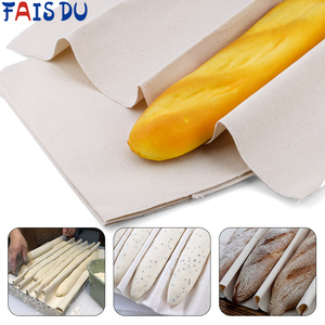 Linen Baguette Fermentation Cloth Eco-friendly Dough Bread Baking Mat Baking Pastry Baker Essential Baking Kitchen Baking Tools