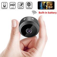 Беспроводная мини камера видеонаблюдения a9 wi fi hd 1080p