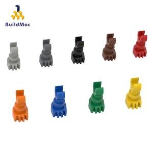 BuildMOC Compatible Assembles Particles 6266 Miniature Skeleton Legs Building Blocks Parts DIY LOGO Educational gift Toys(China)