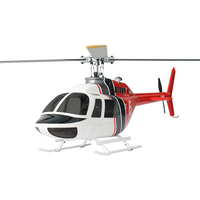 Flywing 6CH Brushless Scale GPS Helicopter Bell 206 quasi RTF con controller di volo H1