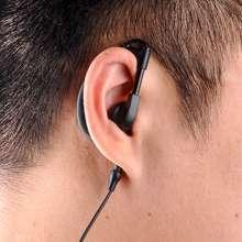 Baofeng walkie talkie earphone uv-5r earpiece PTT with led ear hook headphone k port ham radio Microphone headset uv 5r bf-888s