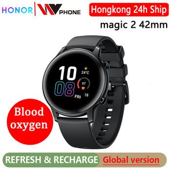 global version honor watch magic 2 42mm magic watch 2 Smart watch Blood oxygen Heart Rate Tracker For Android iOS