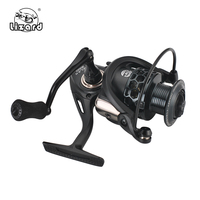 Lizard mela Spinning Fishing Reel 8KG Max Drag Fishing Reel 1000-6000 Series 5.2:1 Gear Ratio for Bass Fishing Coil