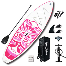 FunWater Inflatable 106×33×6 Ultra-Light (17.6lbs) SUP for All Skill Levels Everything Including accessories