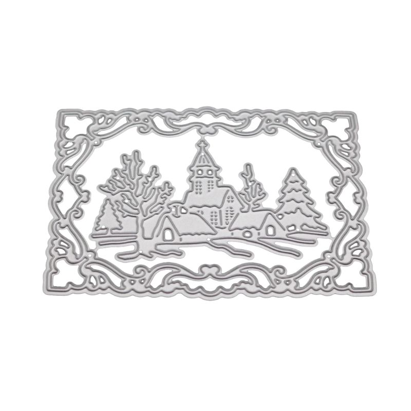 Christmas Winter Metal Cutting Dies Stencils Scrapbook Paper Card Embossing DIY