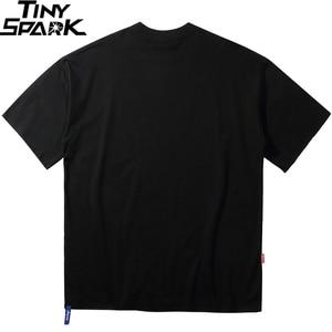 Image 2 - Camisa de algodão de algodão de manga curta de manga curta de impressão de harajuku mascarado de streetwear 2020