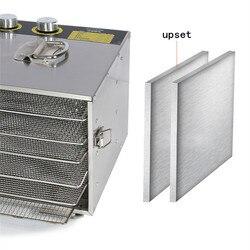 Mini 6 trays home food dehydrator food processor