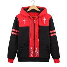 цена Brdwn Fate Apocrypha Grand Order Unisex Amakusa Shirou Tokisada Joan of Arc Cosplay Costume Hoodie Casual Coat Jackets онлайн в 2017 году