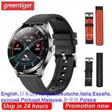 S80 relógio inteligente masculino esportes ip68 à prova dip68 água monitor de freqüência cardíaca fitness rastreador smartwatch masculino relógio telefone inteligente pk l13 l19 l15