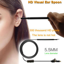 5.5mm 6LED Waterproof Enlarge 3in Inspection Camera Endoscope PC Laptop Borescope Computer Micro USB/Typ-C/USB Mobile Phone