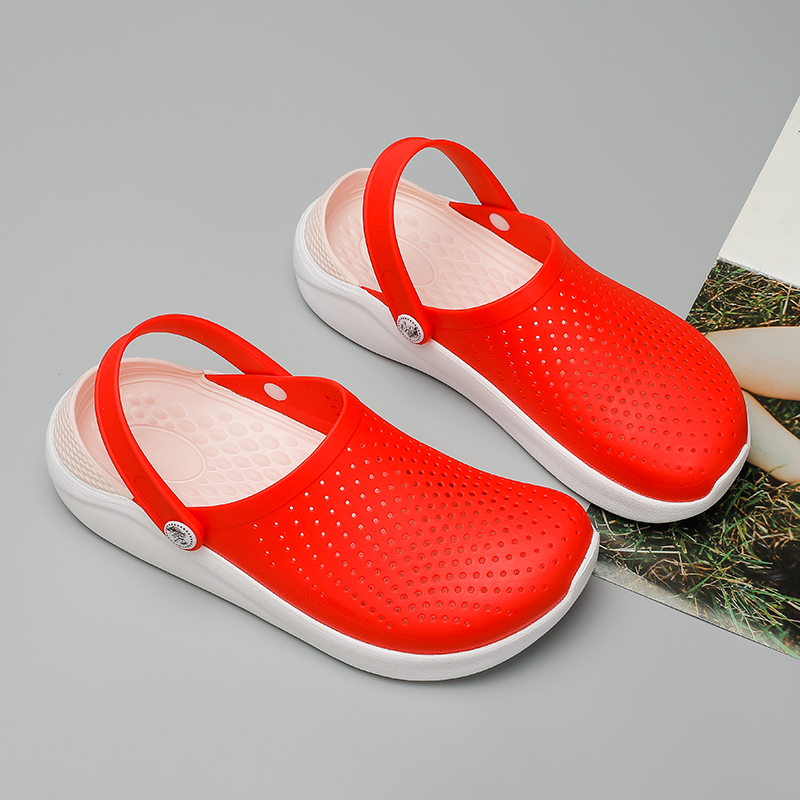 2020 Crocse Mens Beach Sandals Crocks Summer Casual Man Croc Shoes Clogs Men Sandalias Chaussure Homme Slippers Outdoor Sandales