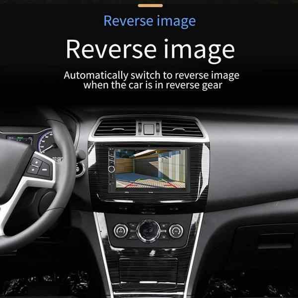 Автомобильный стереоприемники/Радио 2 Din, 7 дюймов свяжитесь Экран Mp5/Mp4/Mp3 плеер, аудио Bluetooth, Fm радио, Usb/Sd/Aux Вход, зеркальное соединение