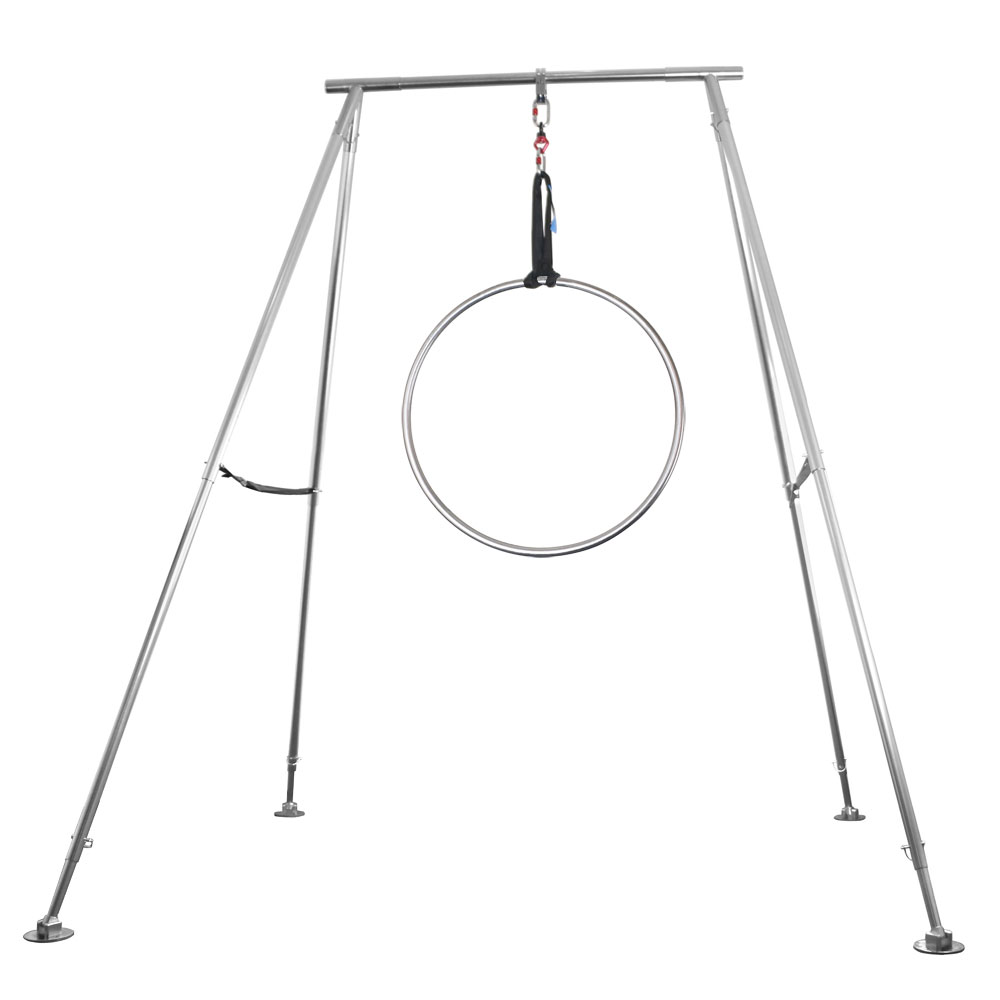 Yoga Swing Stand With 90cm Single Hoop Point Aerial Ring Frame Equipment Set Racks Aliexpress