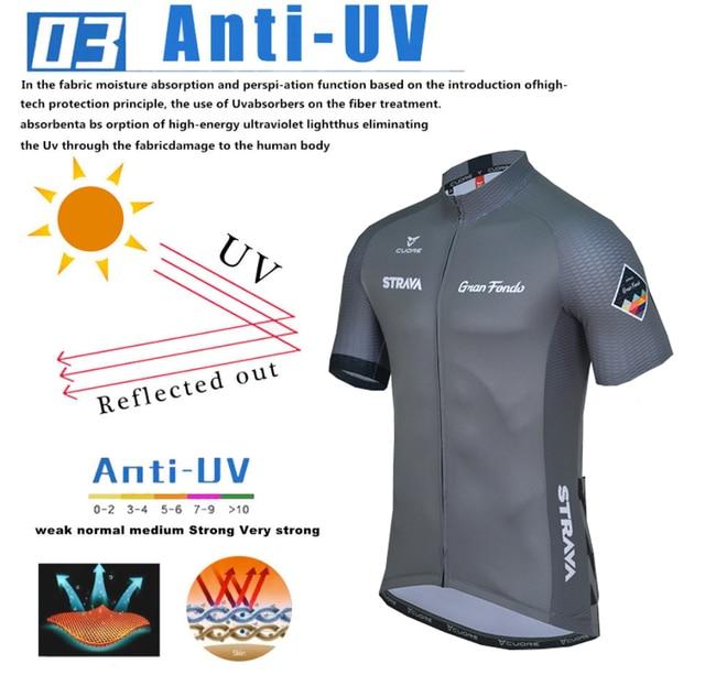 Strava conjunto de roupa de ciclismo masculina, camisa respirável e de jersey esportiva para o verão, camisa em jérsei nw, 2020 4