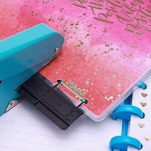 Image 2 - Paddestoel Perforator Voor Gelukkig Planner Gat Punch Losbladige Handleiding Ponsen Creatieve Schoolbenodigdheden; 10 Vel Papers Een Tijd
