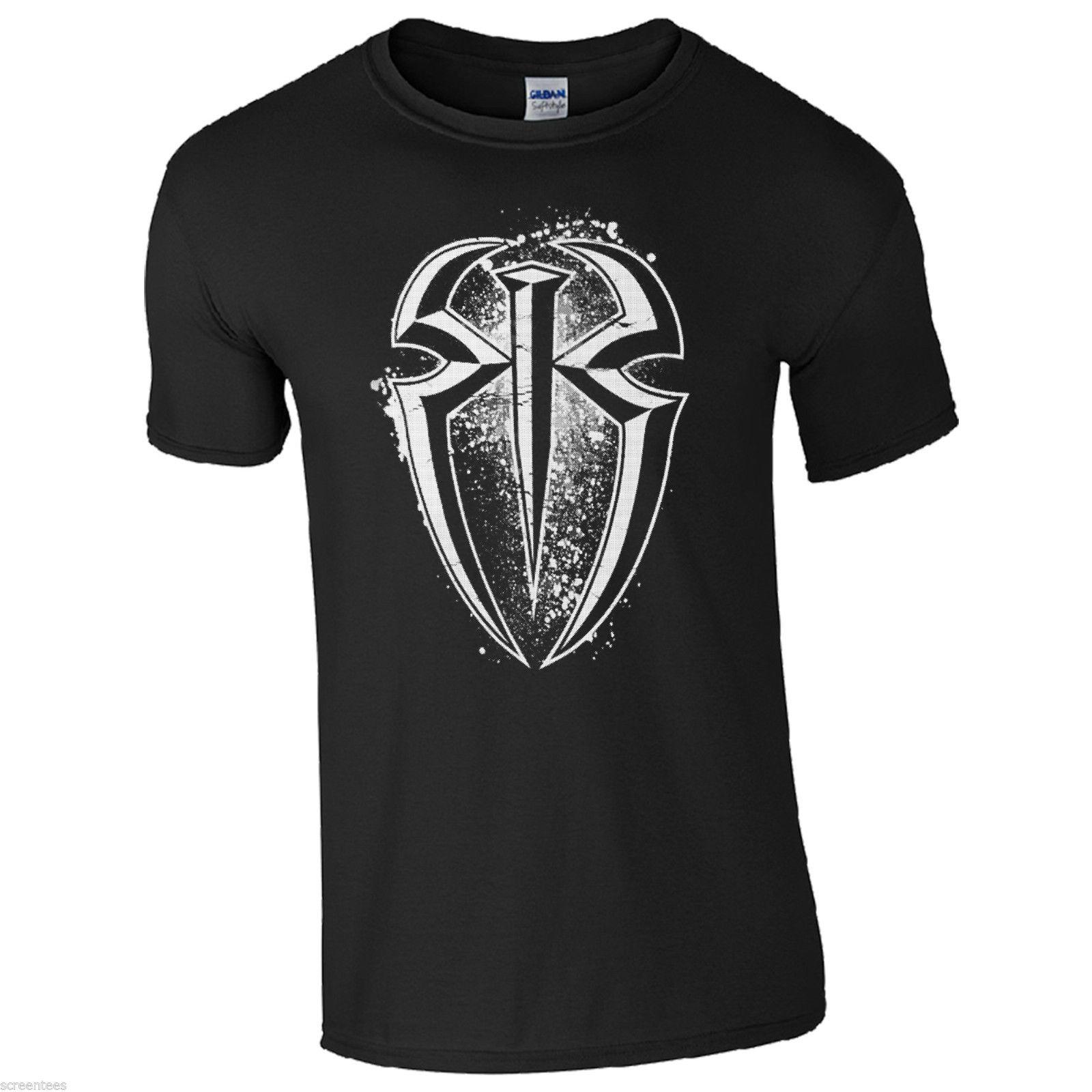 RR T-Shirt - Wrestler Roman Reigns Fan Inspired Unisex Kids …