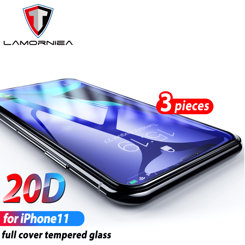2.5D Full Glue Tempered Glass For iphone 6 7 5 S 6 6S 8 Plus XS Max XR Glass Screen Protector Glass For iphone 11 pro max 11pro image