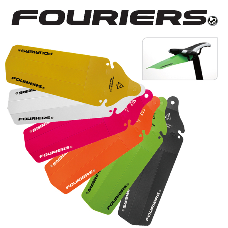 FOURIERS Road Bicycle MTB <font><b>Bike</b></font> Rear <font><b>Fenders</b></font> Saddle Rail <font><b>Fender</b></font> Mud Guards for MTB DH Fixed Gear Mudguard <font><b>Bike</b></font> <font><b>Fender</b></font> image