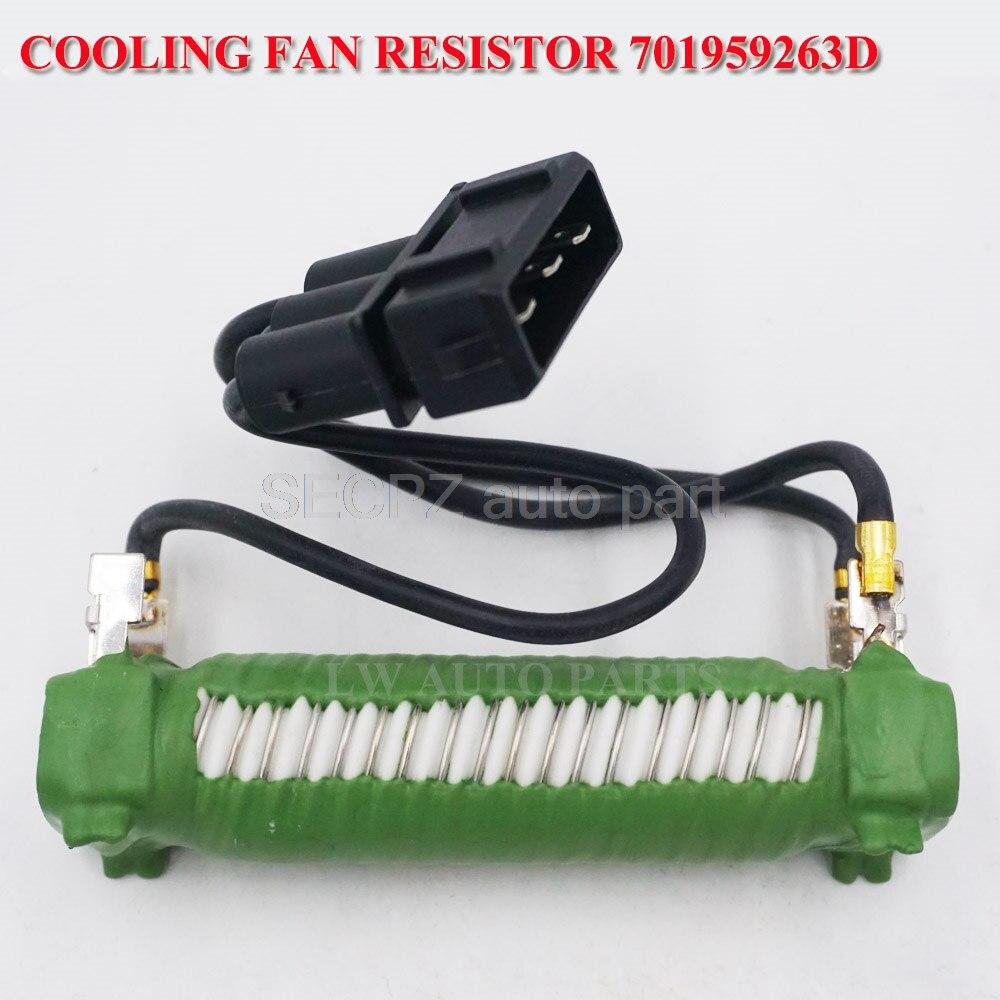 701959263D Engine Cooling Fan Resistor For VW EuroVan Transporter