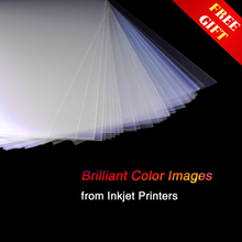 A4 Inkjet Transparency Film paper Waterproof Milky Photographic for Screen Printing