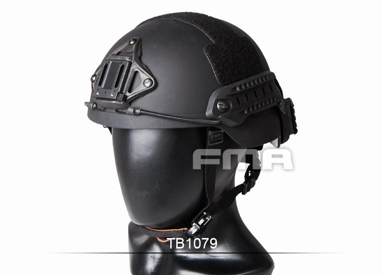 Capacete de sentry fma (xp) bk tb1079