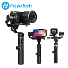 FeiyuTech G6 Plus Handheld Stabilizer Action Camera Smartphone DSLR Camera Gimbal for Gopro Hero 7 6 5 samsung s8 цена