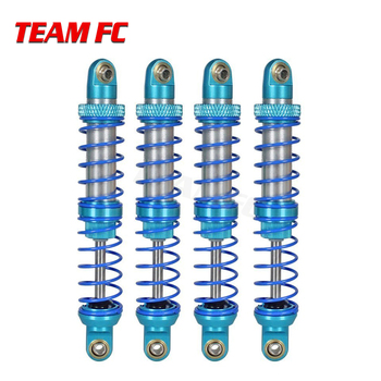 4pcs Oil Adjustable 80mm 90mm 100mm 110mm 120mm Metal Shock Absorber Damper for 1:10 RC Car Parts Truck Crawler Axial SCX10 TRX4 image