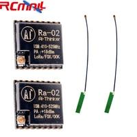 2 шт./лот 433 м SX1278 Ra-02 Lora беспроводной Module10KM IPEX розетка с антенна FPC 1,13 IPEX IOT для умного дома