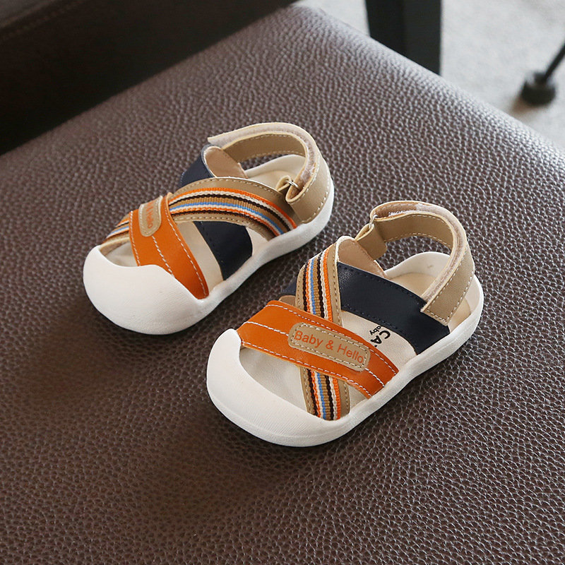 Baby Boy Shoes Fashionable Kids Genuine Leather Shoes Toddler Breathable Soft Indoor Baby Boy First Walker Spring Baby Shoes